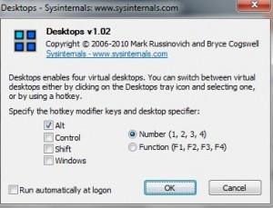 Überschaubare Einstellungsmöglichkeiten bei Microsoft Desktops