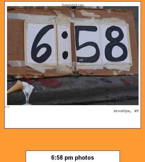 The Human Clock