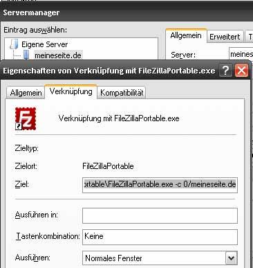 filezilla_einrichten